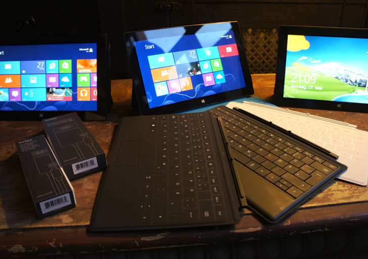 Microsoft Surface Pro Kurztest