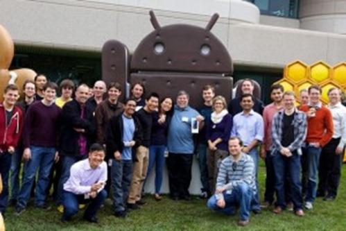 Steve Wozniak bekommt Samsung Galaxy Nexus