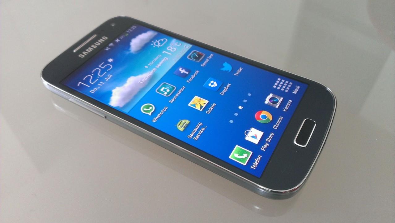 Smartphone Samsung Galaxy S4 Mini Gt I9192: Kurz-Test: Samsung Galaxy S4 Mini GT-I9195