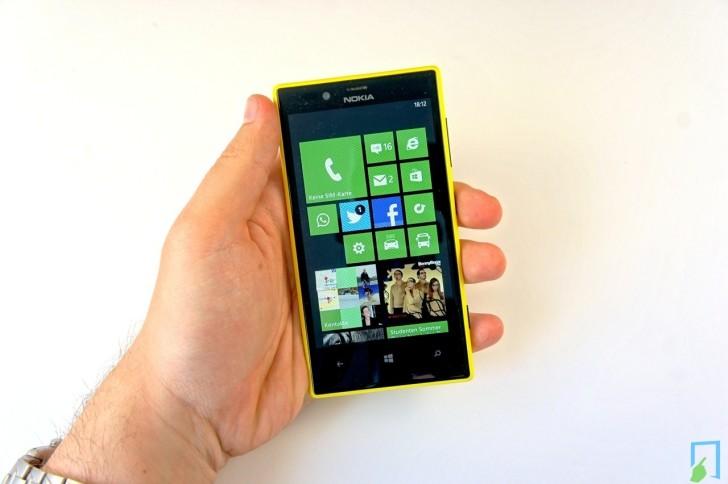 Nokia Lumia 720 Hand Bedienung