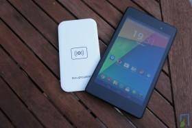 RAVPower Qi mit Nexus 7 2013