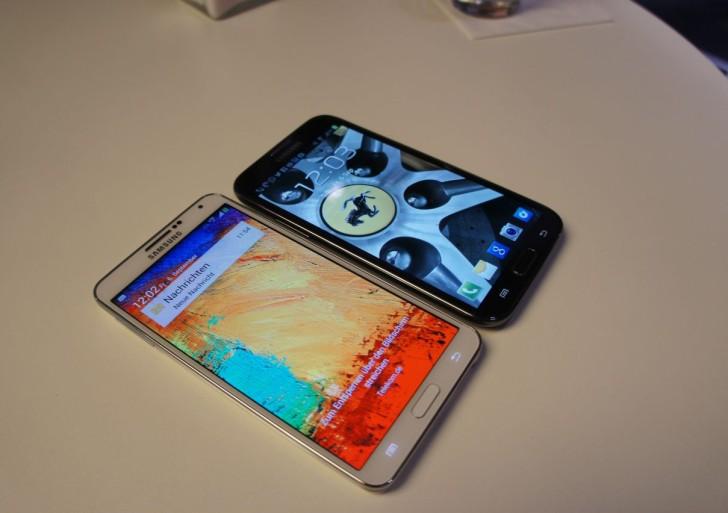 Samsung Galaxy Note 3 & Note 2 im Vergleich
