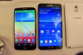 LG G2 Galaxy Note 3 Vergleich