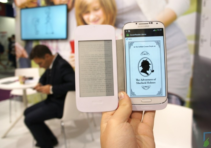 PocketBook CoverReader für Galaxy S4 im Kurztest – E-Ink Flip Cover
