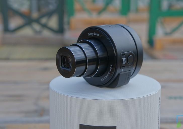 Sony Cybershot DSC-QX10 mit dem Galaxy S4 im Kurztest