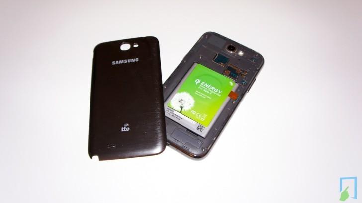Samsung Galaxy Note 2 Qi drahtlos laden