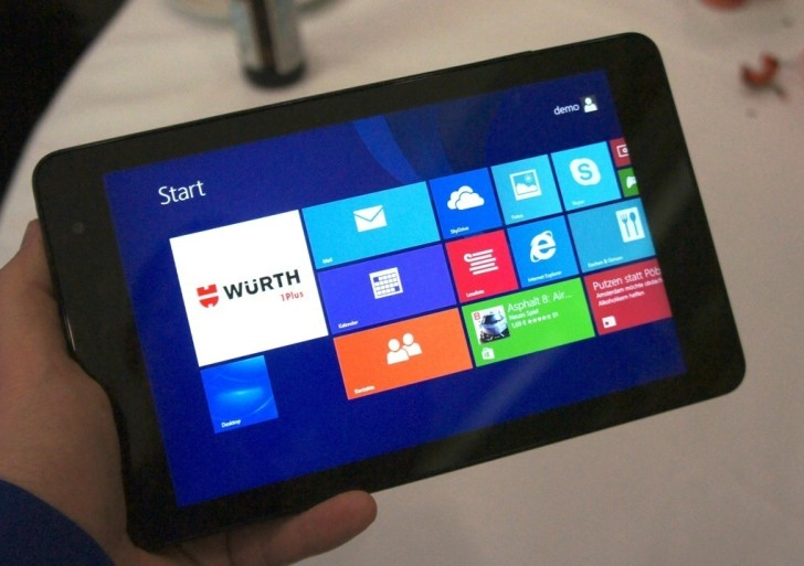 Kurztest: Dell Venue 8 Pro ab 17.12. bei notebooksbilliger