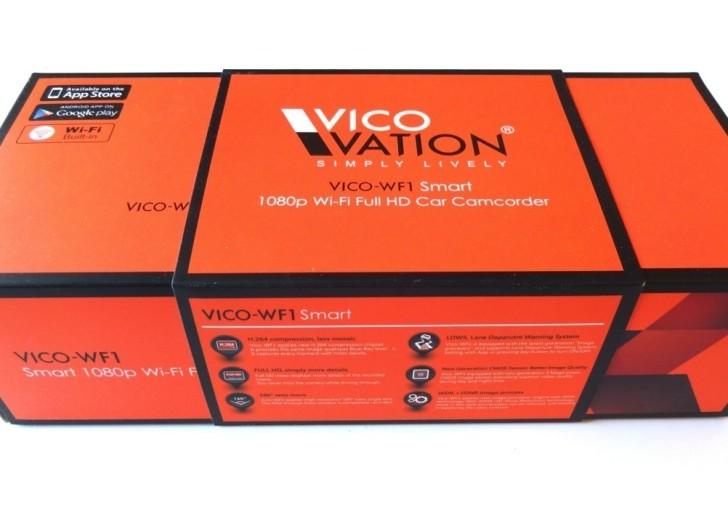 Vicovation Vico-WF1 Unboxing: Autokamera mit Fahrspurassistent