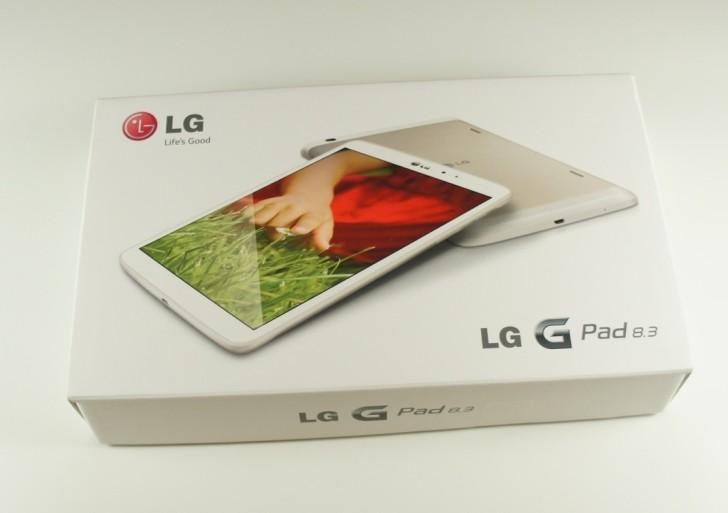 LG G Pad 8.3 im Unboxing