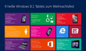 Windows 8 Tablet Infografik