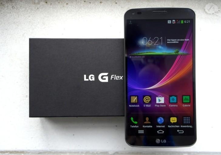 LG G Flex im Unboxing