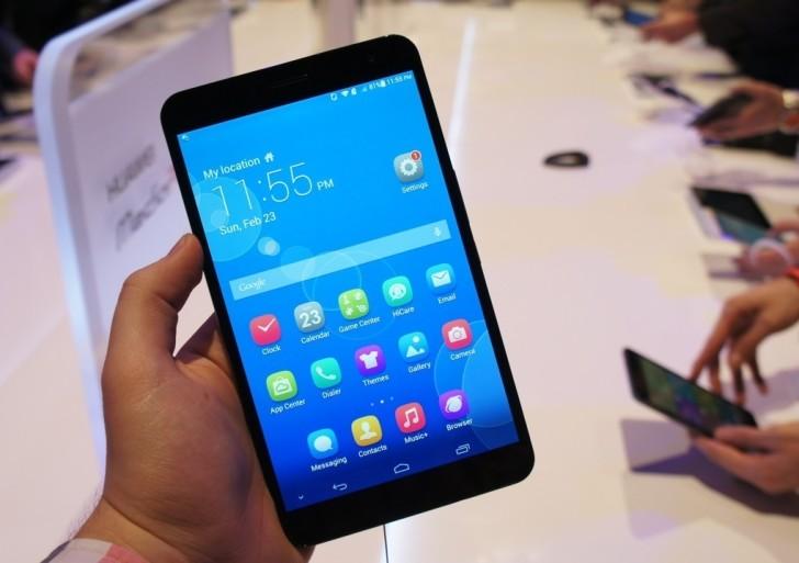 Erster Eindruck: Huawei MediaPad X1 und MediaPad M1
