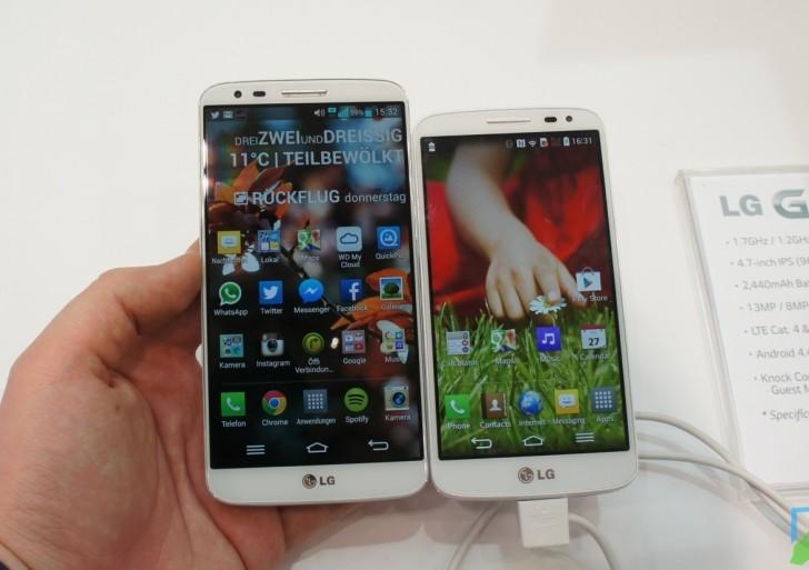 LG G2 mini – erster Eindruck & Vergleich mit LG G2