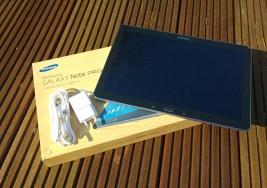 Samsung Galaxy Note Pro 12.2 ausgepackt