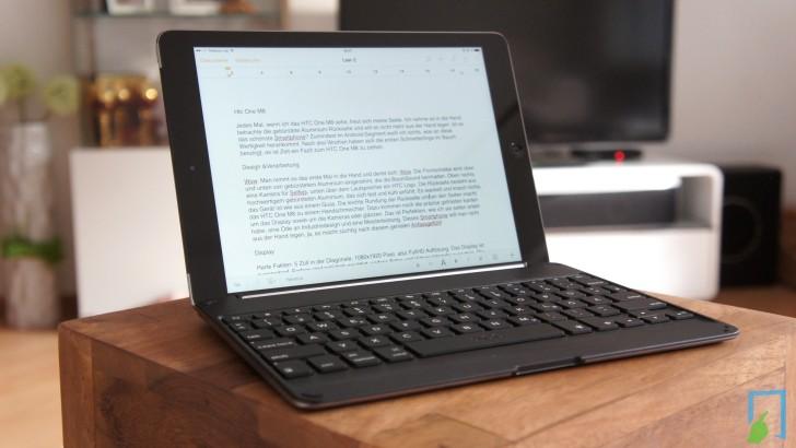 ZAGGkeys Cover für iPad Air im Test – die perfekte Tastatur?