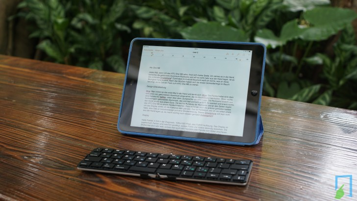 Faltbare Bluetooth Tastatur von Flyshark im Test