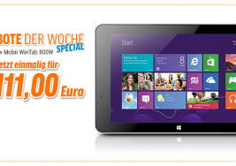 Angebot: Point Of View Mobii Wintab 800W für 111€