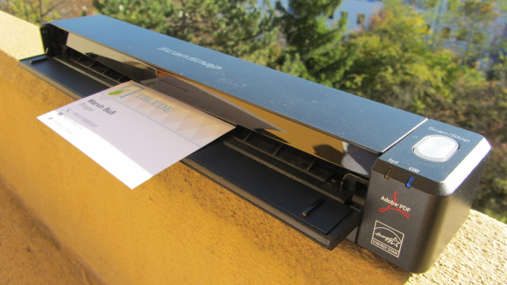 Fujitsu ScanSnap iX100 im Test – Scannen leicht gemacht