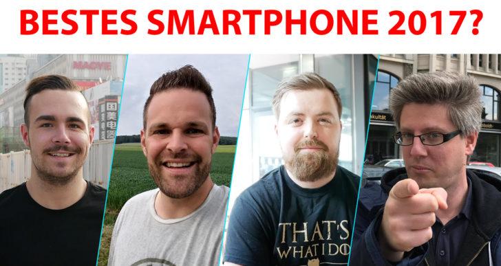 Bestes Smartphone 2017 (1. Jahreshälfte) – das sagen Technik-YouTuber!